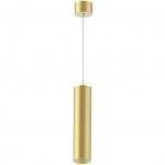 Светильник светодиодный подвесной Kam`s Light KAS-PL01-A-6610-400 10W 4K, CREE COB+Kegu, 50°, CRI82, IP20, 400*66*1940mm, золото