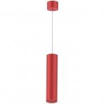 Светильник светодиодный подвесной Kam`s Light KAS-PL01-A-6610-400 10W 3K, CREE COB+Kegu, 24°, CRI82, IP20, 400*66*1940mm, красный