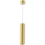 Светильник светодиодный подвесной Kam`s Light KAS-PL01-A-6615-700 15W 27K, CREE COB+Kegu, 24°, CRI82, IP20, 700*66*2260mm, золото