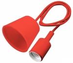Светильник подвесной GTV OS-MINIOE27-42 MINIO Е27, IP20, AC220-240V, 1м, красный