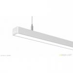 Светильник светодиодный БОСМА INI LED 01 SN 18W 3000K Ra80 T60 220V (подвес 2м), белый