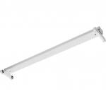 Cветильник светодиодный накладной для открытой лампы GTV OS-OSL2120S-00 OSL SLIM-2x120см T8 LED, G13, IP20, 220-240V