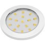 Светильник светодиодный накладной LUMINO LD-LU16NE-10, 12V DC, 1.5W, 16 SMD3528, IP20, 70-85lm, 4000K, провод 2м с мини-AMP, белый