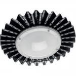 Светильник светодиодный GTV LD-HBM050W-64-E MONTANA, типа highbay, 50W, 5000лм, AC180-250V, 50/60Hz, PF>0,9, RA>80, IP54, 120°, 6400K, черный корпус