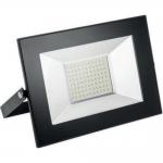 Светильник светодиодный (прожектор) GTV LD-FLXC70W-64-E FLUXO, 70W, 5600лм, AC220-240V, 50/60 Hz, PF>0,9, RA>80, IP65, 120°, 6400K, черный корпус