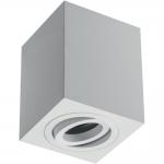 Светильник потолочный GTV OS-SEN5097KWB-10 SENSA, 90x90x115mm, IP20, max.1x50W, белый