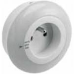 Светодиодный мини-светильник в розетку GTV LD-ML1000-00 ML1, 1W, 50lm, AC220-240V/50-60Hz, IP20, 4000K, AUTO/OFF/ON, с сумеречным датчиком