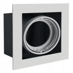 Светильник потолочный встраиваемый GTV OP-PIREO1-80 PIREO, IP20, серый