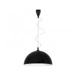 Светильник подвесной Nowodvorski 4843 Hemisphere black-white L