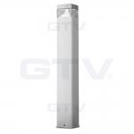 Светильник светодиодный садовый GTV LD-GAR0P07-40 GARDINO-P, 30 SMD2835, 7W, 4000K, IP54, 520lm, 220-240V, нержавейка