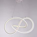 Люстра светодиодная Profit Light 39025 WT, 110W, 2700-6500K, 630*360*210мм, белый