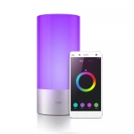Светильник-ночник светодиодный Xiaomi MUE4064GL Yeelight Bedside Lamp, 10Вт, 1700-6500К, 300Лм, Wi-Fi, Bluetooth, серебристый