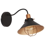 Светильник накладной Nowodvorski 6442 GARRET, IP20, E27(max.1x60W), черный, медь