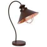 Светильник настольный Nowodvorski 5060 LOFT CHOCOLATE, IP20, E27(max.1x60W), шоколад, медь
