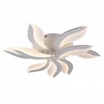 Люстра светодиодная Profit Light 1267/6+3 WT, 108W, 2700-6500K, 830*150 мм, белый