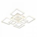 Люстра светодиодная Profit Light 1375/4+4 WT, 200W, 2700-6500K, 600*600*150 мм, белый