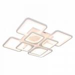 Люстра светодиодная Profit Light 1537/4+4 WT, 224W, 2700-6500K, 600*600*150 мм, белый