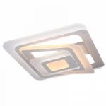Люстра светодиодная Profit Light 1987 WT, 144W, 2700-6500K, 520*520*180 мм, белый