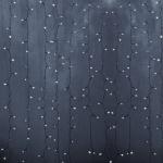 """Гирлянда светодиодная NEON-NIGHT 235-155  """"Светодиодный Дождь"""", 45Вт, 760LED, 2х3м, 230В, IP65, постоянное свечение, прозрачный провод, белые диоды"""
