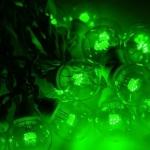 """Гирлянда светодиодная NEON-NIGHT 331-324 """"LED Galaxy Bulb String"""", 90Вт, 6*30LED, 10м, 230В, IP65, постоянное свечение, черный провод, зелёные диоды"""