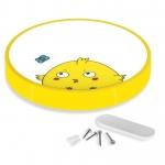 Светильник светодиодный потолочный Yeelight XD0011Y0CN LED CEILING LIGHT KIDS Цыпленок Бидди, 28Вт, 0.1-1500Лм, 2700K-6500K, CRI>95, Wi-Fi/Bluetooth, 200V~50/60Hz 0.12A, 32x32см, желтый