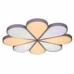 Люстра светодиодная Profit Light 8495/8L WT, 288W, 2700-6500K, 860*110 мм, белый