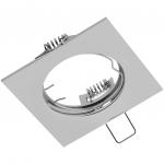 Светильник встраиваемый GTV OP-PROD4-01 PORTO, IP20, квадратный, хром