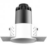 Светильник светодиодный встраиваемый Kam`s Light KAS-CL17R-310T-3K CL17, 10W, 3000K, 650lm, Ra>92, 36°, 220-240V, CREE, белый, черный