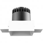 Светильник светодиодный встраиваемый Kam`s Light KAS-CL18R-420T-3K CL18, 20W, 3000K, 1300lm, Ra>92, 60°, 220-240V, CREE, белый