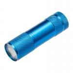Фонарь светодиодный GTV LT-LK3WBL-60 LED, 3W, IP20, 6400K, 150lm, 1,5V, AC AAA, синий