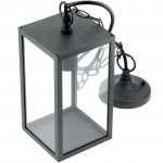 Светильник садовый GTV OS-VENTANAH-00 VENTANA, E27, IP54, IK06, черный