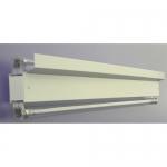 Облучатель бактерицидный настенно-потолочный ОБН-150-2х60-ТЛ с тефлоновыми лампами