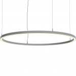 Светильник светодиодный подвесной TECHNOLED Ring 900 4K B, 70Вт, 5880Лм, 4000К, 900x55x80, черный, подвес 2000мм