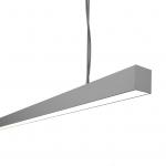 Светильник светодиодный подвесной TECHNOLED Line M 2522 4K W, 80Вт, 7680Лм, 4000К, 2522x55x55, белый, подвес 3000мм