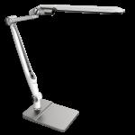 Светильник светодиодный настольный National 4895227601279 NL-82, 10Вт, 2700-3000/4000-4500/6000-6500 (3 режима света), плавное изменение яркости, сенсорное управление, на подставке, на струбцине, серебристый