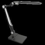 Светильник светодиодный настольный National 4895227601255 NL-81, 10Вт, 2700-3000/4000-4500/6000-6500 (3 режима света), плавное изменение яркости, сенсорное управление, на подставке, на струбцине, черный
