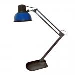 Светильник настольный Трансвит 4607053882490 Бета-К +, 1xE27, 60Вт, 220В, на подставке, синий