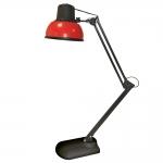 Светильник настольный Трансвит 4607053882483 Бета-К +, 1xE27, 60Вт, 220В, на подставке, красный