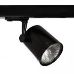 Светильник трековый Sylvania 2041884 BEACON ES50 3/C BLACK 240V, трехфазный, черный