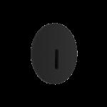 Светильник светодиодный встраиваемый Ledron R712-Black, 1W, CREE, 3000K, 130lm, D-60mm, IP20, круг, черный