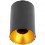 Светильник потолочный накладной GTV OS-TENGU10-00 TENSA, MR16 GU10, IP20, черный, золото