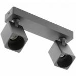 Светильник GTV OS-REN20WKW2-00 RENO, 1xGU10 MR16, IP20, поворотный, алюминий, черный
