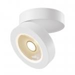 Светильник светодиодный точечный накладной Maytoni C022CL-L7W ALIVAR, 7Вт, 3000К, 470Лм, 36°, Ra80/1В, IP20, регулировка поворота в 360°, регулировка наклона в 80°, белый