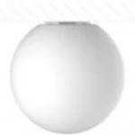 Светильник светодиодный накладной Кубометр света 12222010 SPHERE_S, LED лампа E27, 8Вт, 3000К, 80Лм/Вт, 640Лм, Ra80/1В, LLDPE, IP40, IK08, белый
