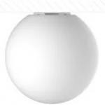 Светильник светодиодный накладной Кубометр света 10222010 SPHERE_S, LED лампа E27, 10Вт, 3000К, 80Лм/Вт, 800Лм, Ra80/1В, LLDPE, IP40, IK08, белый