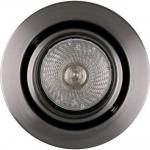 Светильник встраиваемый Sylvania 0059542 Sylfire Compact Tilt, MR16, GU5.3, шлифованная сталь, поворотный