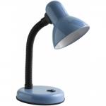 Светильник настольный GTV LB-RIOE27-40 RIO, E27, max. 40W, 220-240V, IP20, синий корпус из пластика и металла