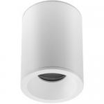 Светильник накладной потолочный GTV OS-SENAQ5087OKB-10 SENSA AQUA, 1xGU10 MR16, 85x115мм, IP54, круглый, белый корпус из алюминия