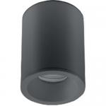 Светильник накладной потолочный GTV OS-SENAQ5087OKCZ-00 SENSA AQUA, 1xGU10 MR16, 85x115мм, IP54, круглый, черный корпус из алюминия