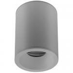 Светильник накладной потолочный GTV OS-SENAQ5087OKB-80 SENSA AQUA, 1xGU10 MR16, 85x115мм, IP54, круглый, серый корпус из алюминия
